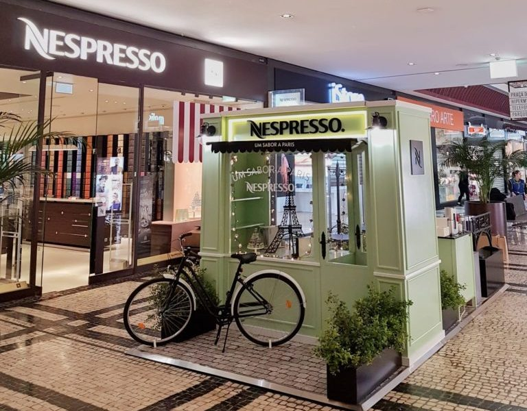 STAND & CHRISTMAS ACTIVATION 2018 | NESPRESSO